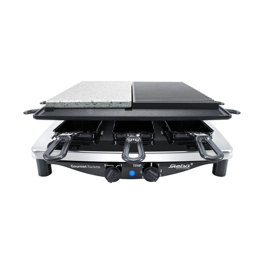 Raclette RC 4 PLUS DELUXE CHROM